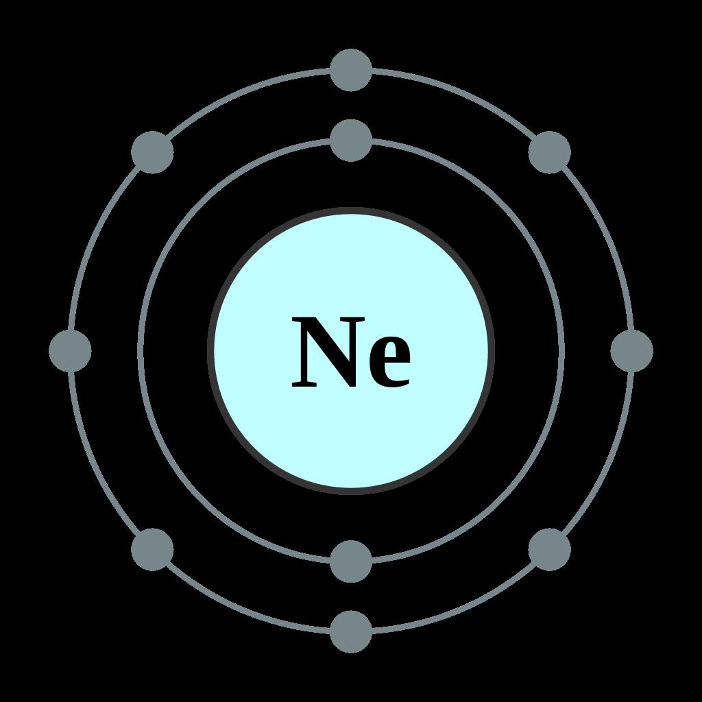 ネオンとその電子配置