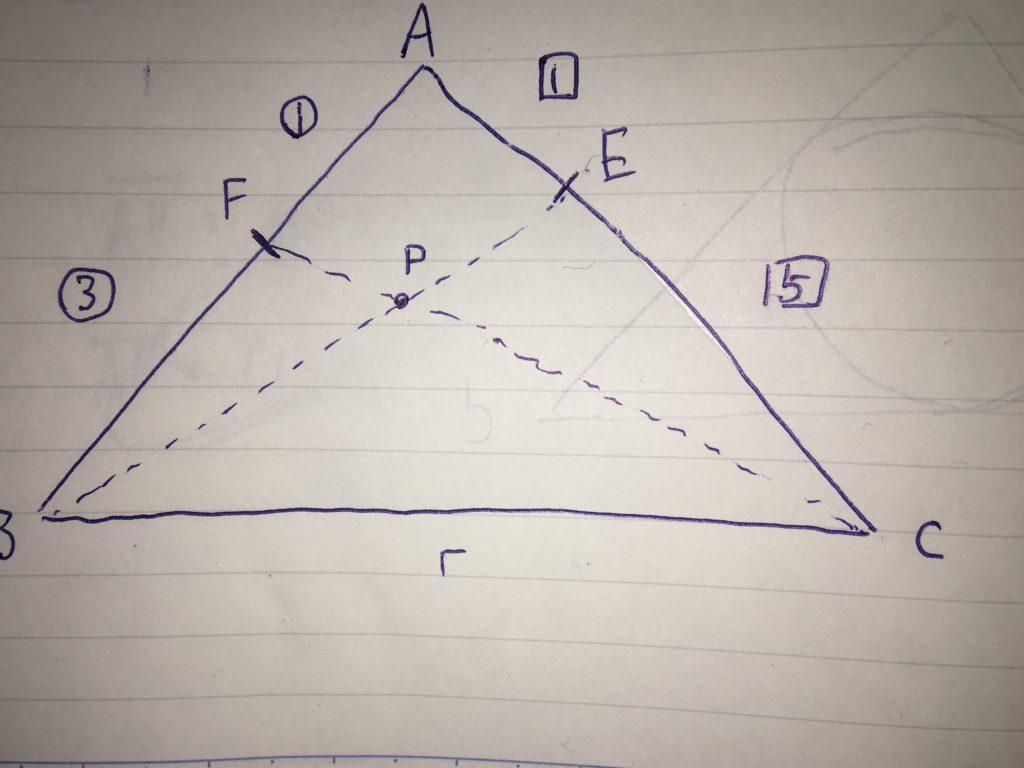 ベクトル方程式例題1