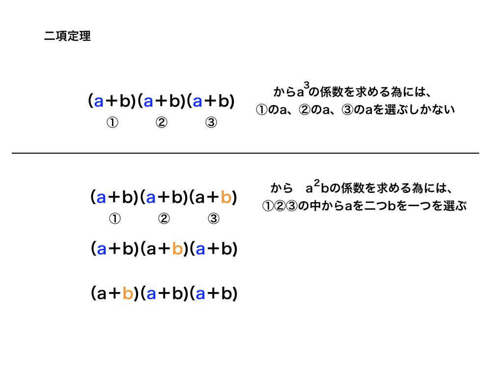 二項定理の解説1