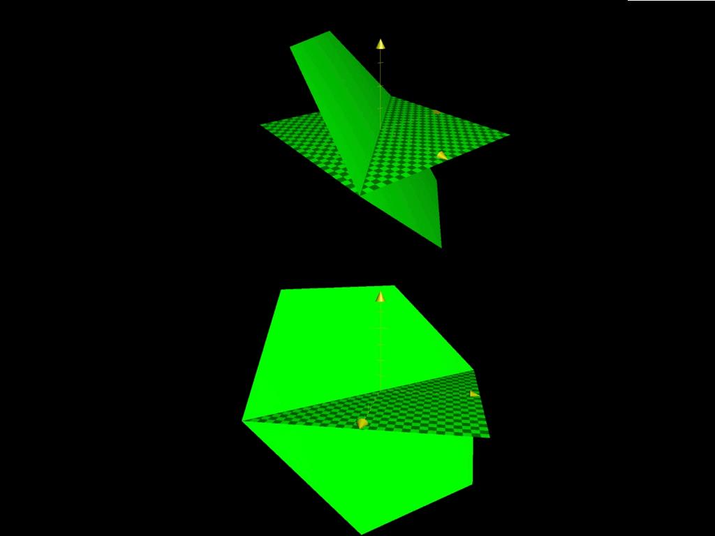 2平面のなす角立体図